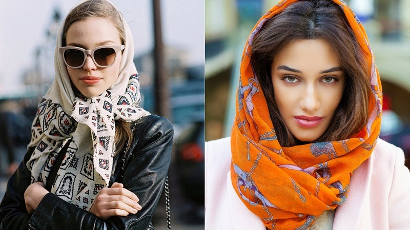 Как красиво завязывать шарф
