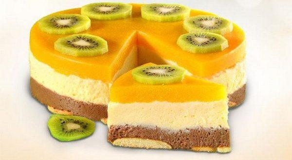 Торт «Манный» без выпечки на скорую руку