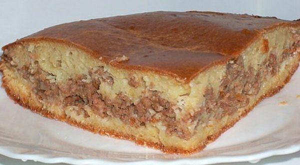 Рецепт пирога с мясом «Легче не бывает»