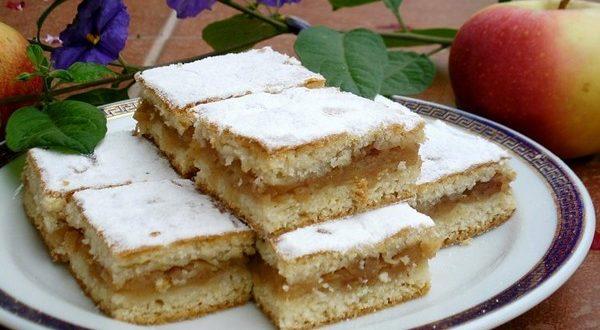 Нежный яблочный пирог для тех, кто соблюдает пост. Вкусный десерт из доступных ингредиентов!