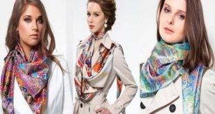 15 элегантных и стильных способов разнообразить свой образ при помощи платка