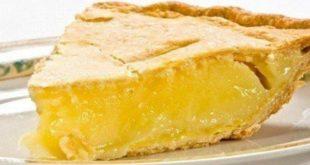 Пирог «Лимончелла»