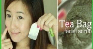 Волшебный скраб для лица с зеленым чаем для гладкой кожи