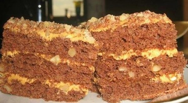 Торт «Золотой ключик» — вкус из детства