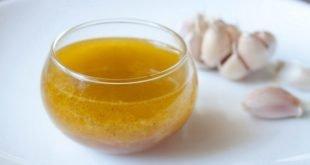 Чесночное масло для здоровья