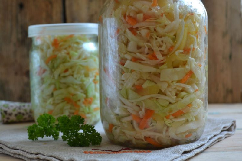 Простой рецепт засолки капусты