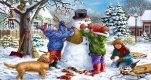 Стихи про зиму для детей — короткие и красивые стихотворения для заучивания