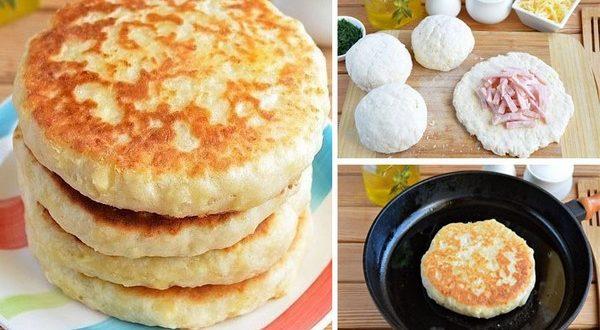 Сырные лепешки с начинкой: очень вкусно и быстро рекомендации