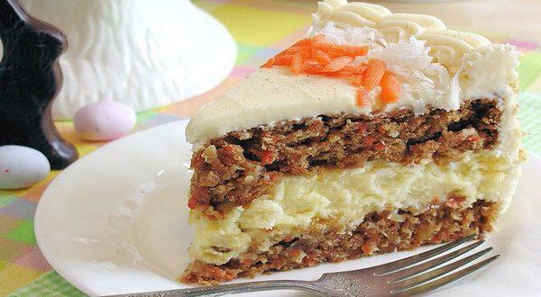 Морковный торт с чиз-кремом: оригинальный рецепт