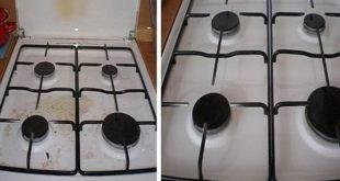 Чистая плита без усилий