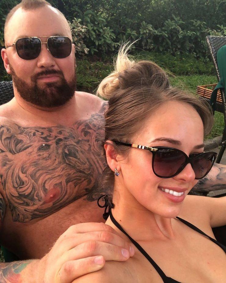 Хафтор и его девушка